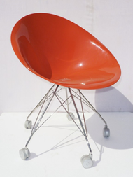 Ero|s| chair with castors