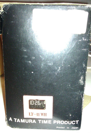 Lumitime C-11 clock with box