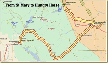 St Mary to Hungry Horse