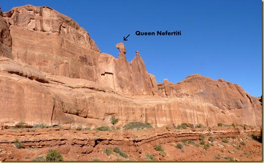 2010-09-11 - UT, Arches National Park - Park Avenue Hike -1021- Queen Nefertiti