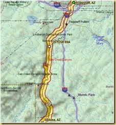 Flagstaff to Sedona