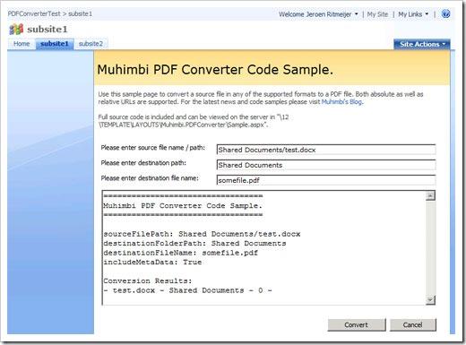 PDFConverterSample