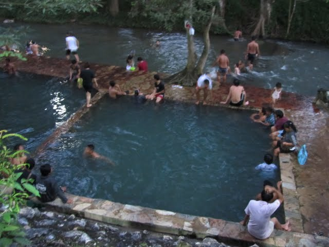 Thong Pha Phum hot springs