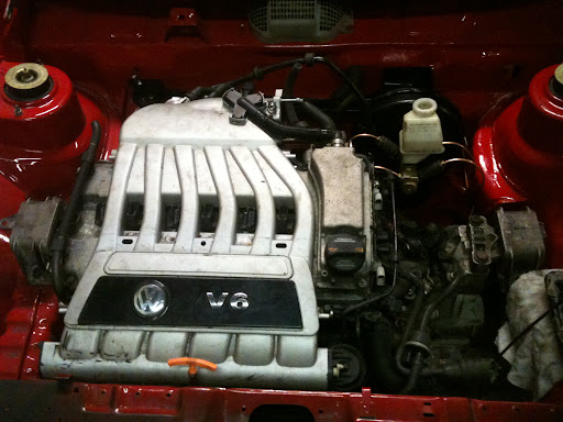 Finished Product - MK2 Golf