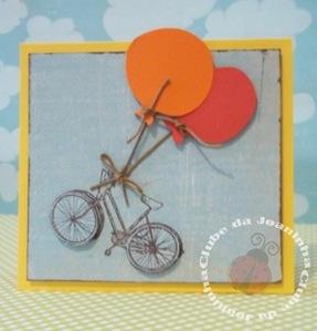 cartão - bicicleta1