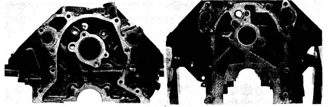 V-type engine block. Fig. 3.10. Y-type engine block.