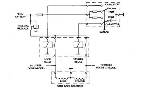 5 wire central locking actuator wiring diagram 5 window winding and central door locking automobile on 5 wire central locking actuator wiring diagram
