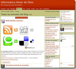 Blog de la red social del Colegio Amor de Dios