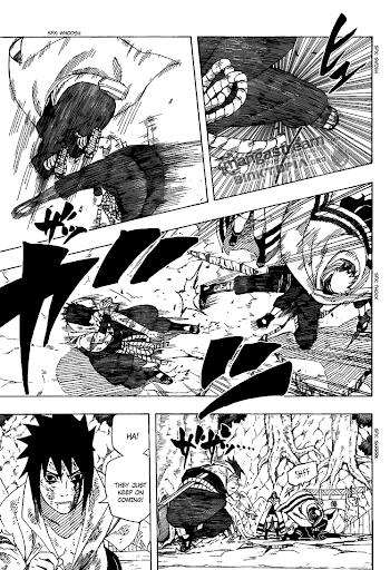 Read Naruto 483 Online | 10 - Press F5 to reload this image