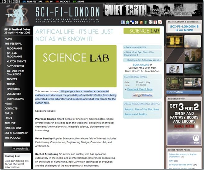 scifilondon
