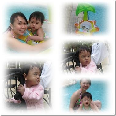 CNY swimming