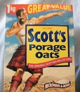 porridge oats large