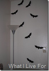 Bats on the wall
