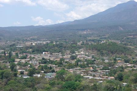La ciudad colonial de Gracias