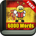 App Learn Spanish Vocabulary - 6,000 Words apk for kindle fire