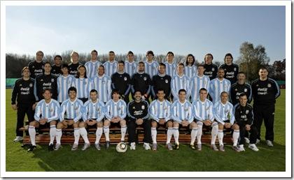 formacion argentina 2010