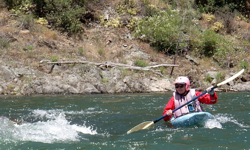 NF American River Shirttail Run whitewater kayaking