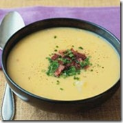 Potato and Cheddar Cheese Soup