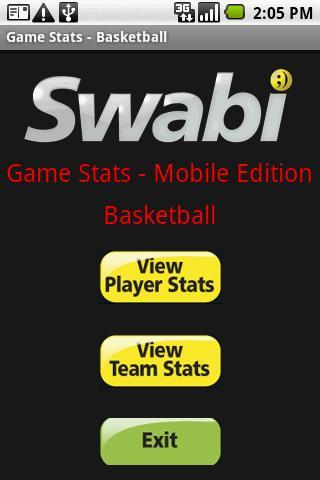 Game Stats for Basketball