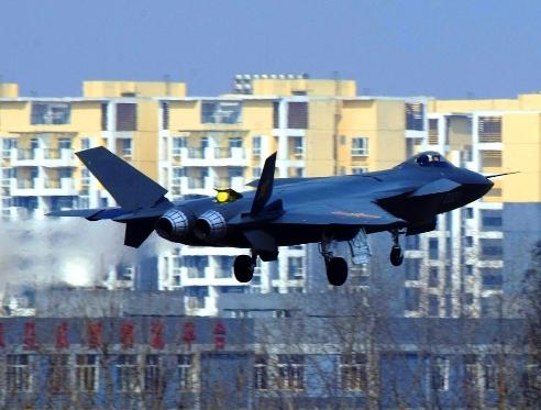 Pesawat siluman Chengdu J-20 gambar 1