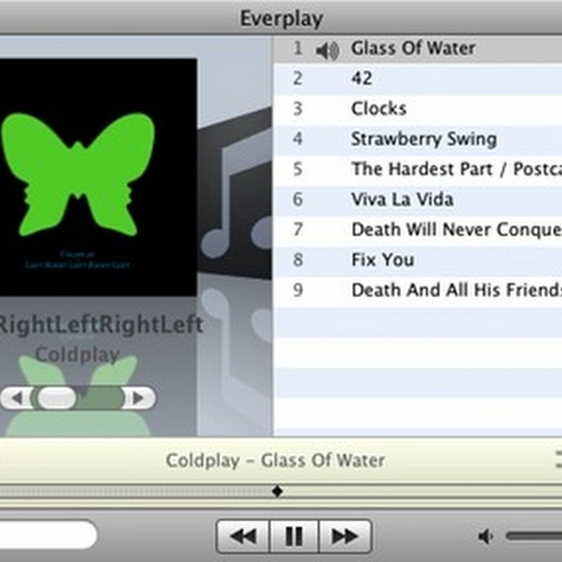 Everplay, reproductor de música para Mac OS X