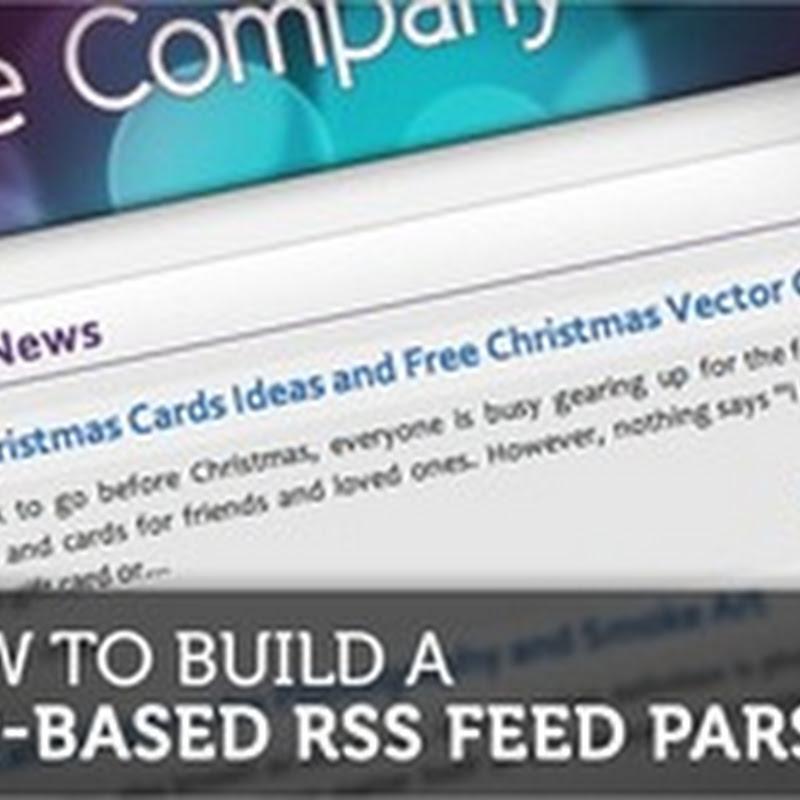 Crear un feed RSS con PHP