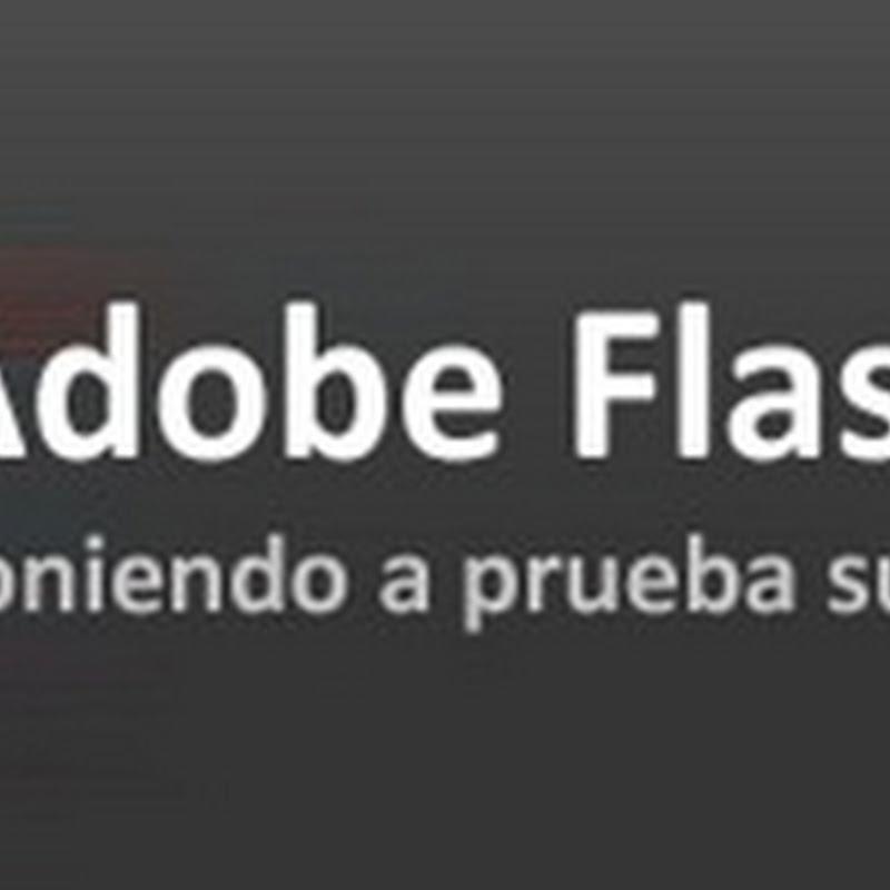Adobe Flash Player: poniendo a prueba su rendimiento