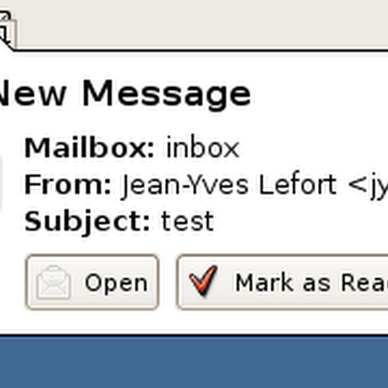 Notificadores de email en Linux
