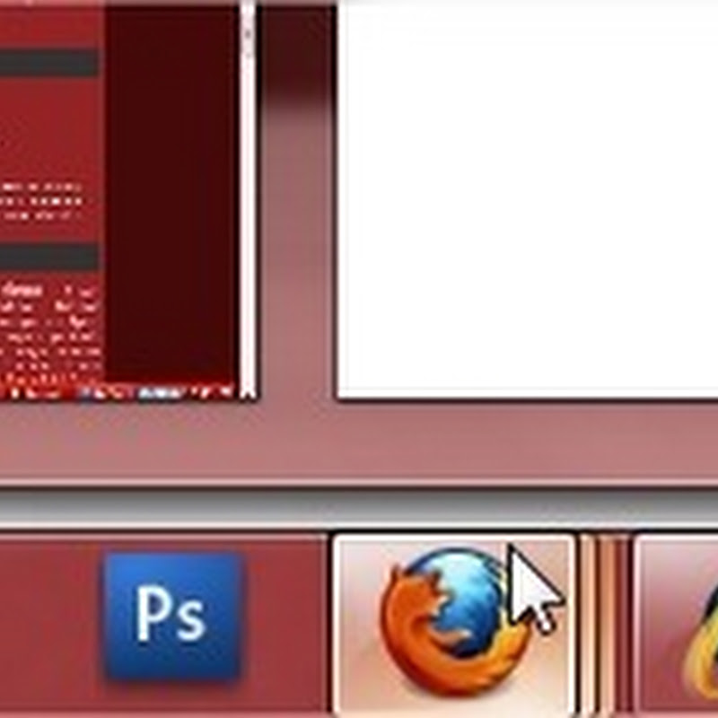 Habilitar miniaturas de Firefox en Windows 7