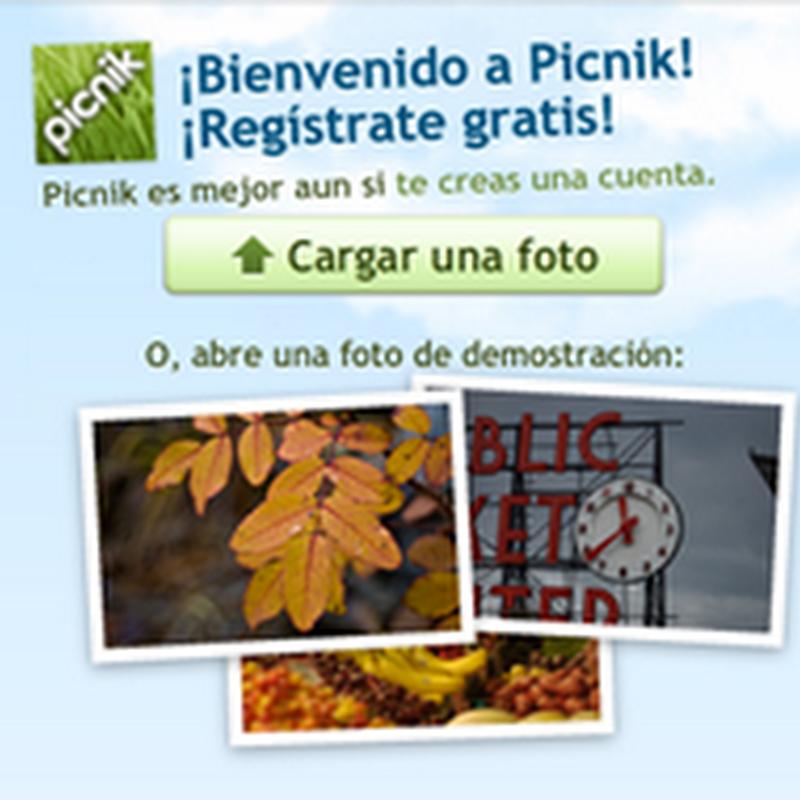Efecto vintage online con Picnik