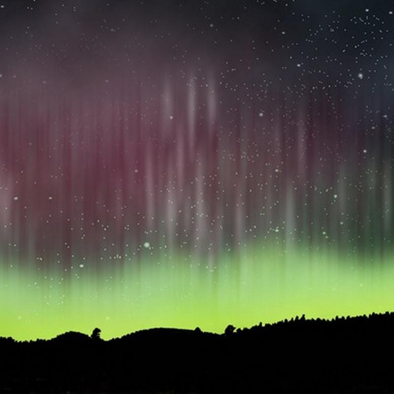 Crear una aurora boreal en Photoshop