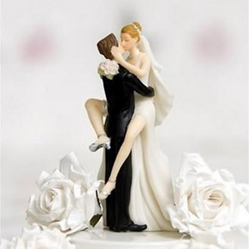 Imágenes: Figuras para tu pastel de bodas