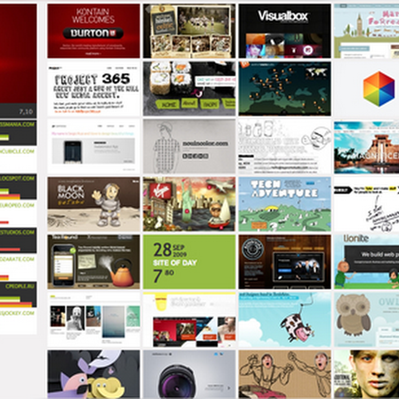 CSS Awards para encontrar mejores diseños con CSS