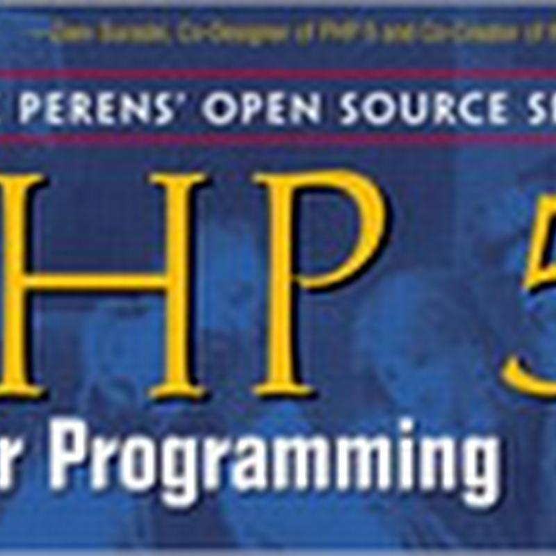5 libros gratis para aprender PHP 5