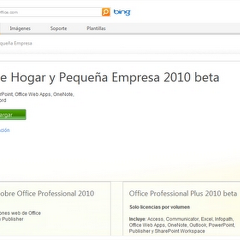 Beta de Office 2010 pronto para descargar