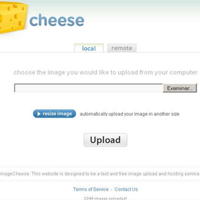 Aloja imágenes con image cheese