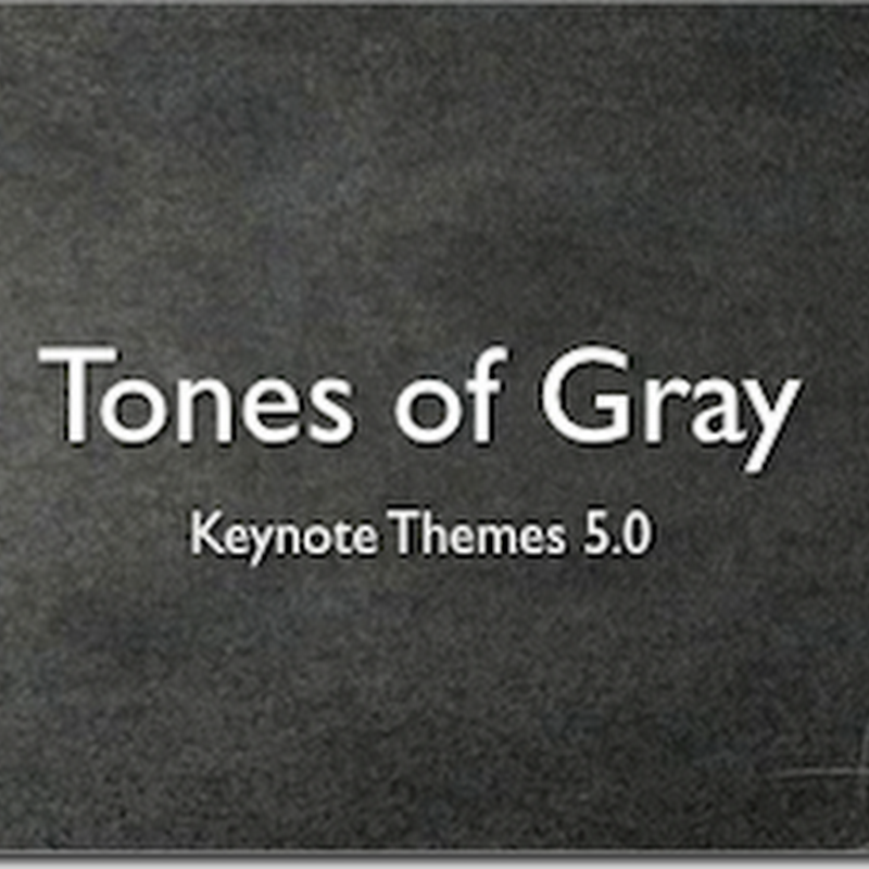 Plantillas gratuitas para Keynote'09