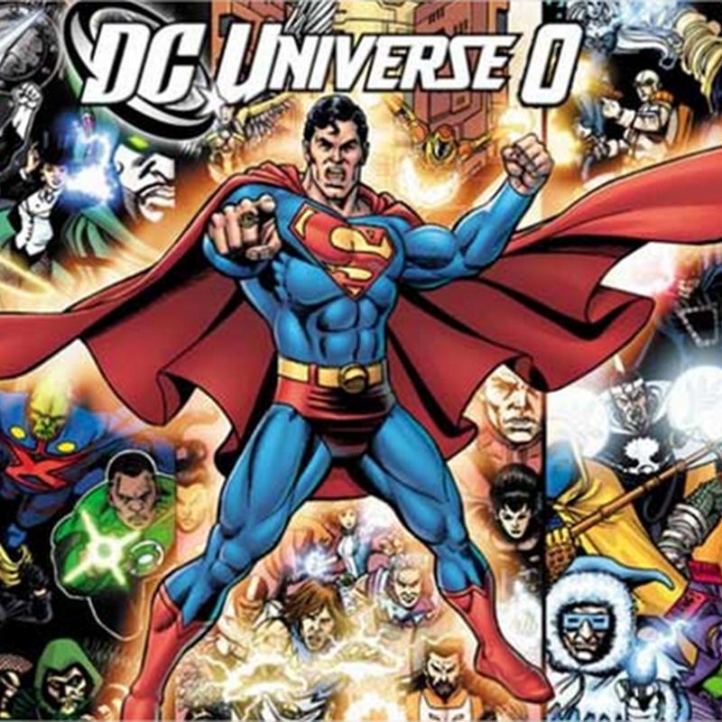Ilustraciones de super héroes y villanos