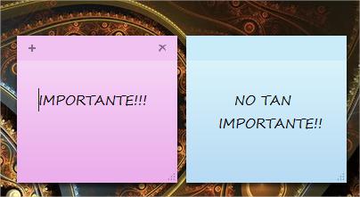 Notas