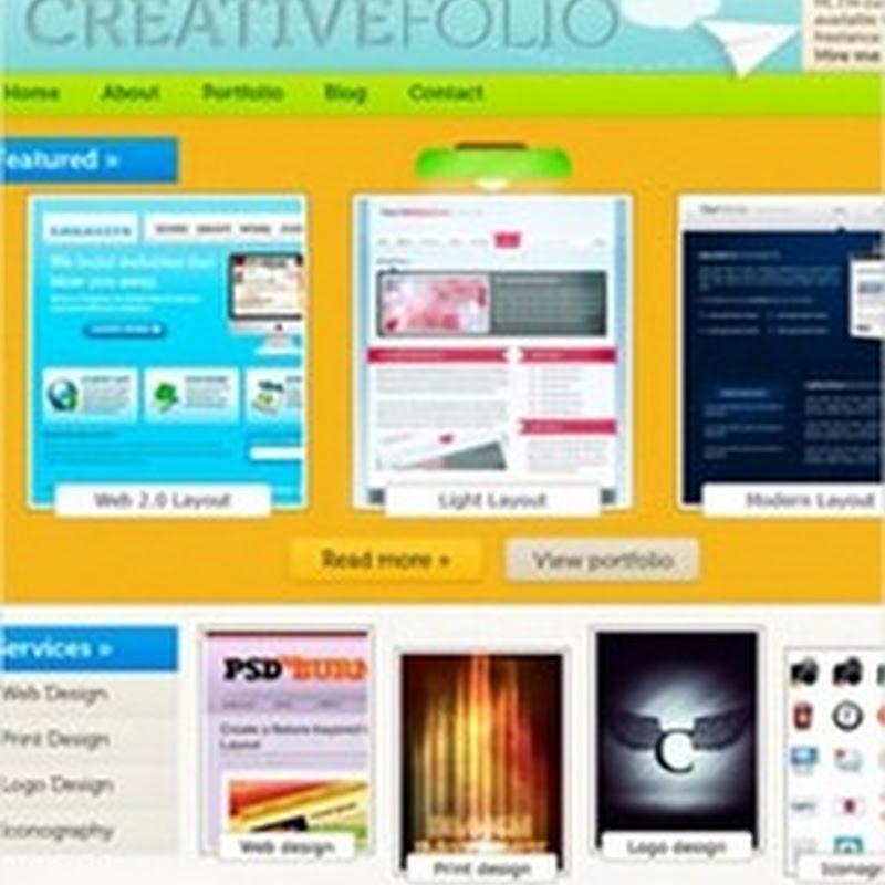 30 deliciosas plantillas de sitios web en formato PSD