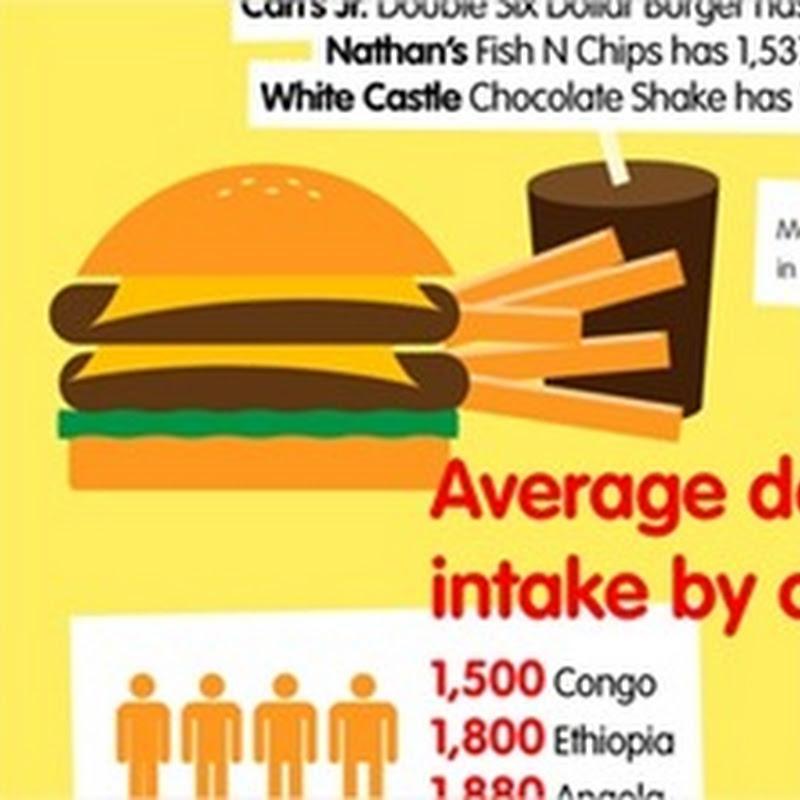 Infografías, comida rápida, Google y redes sociales para tontos