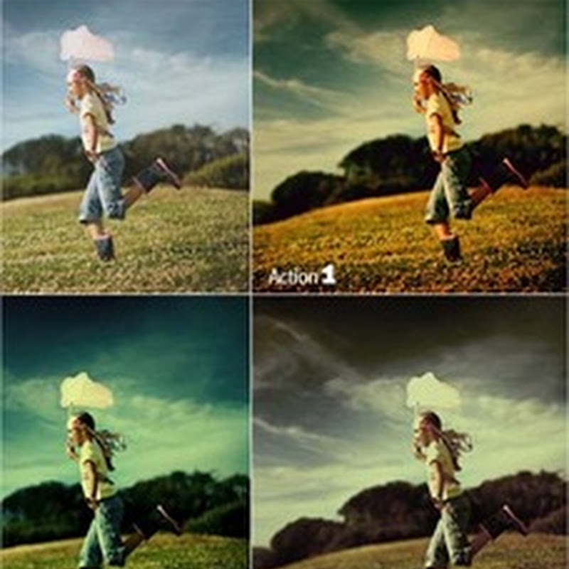 40 acciones estilo vintage y retro para Photoshop