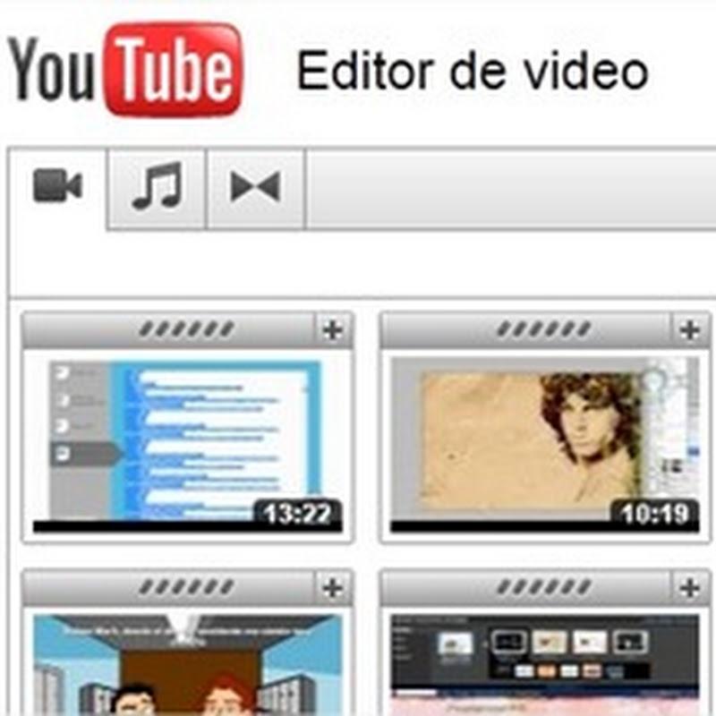 Cómo usar el editor de vídeos de Youtube