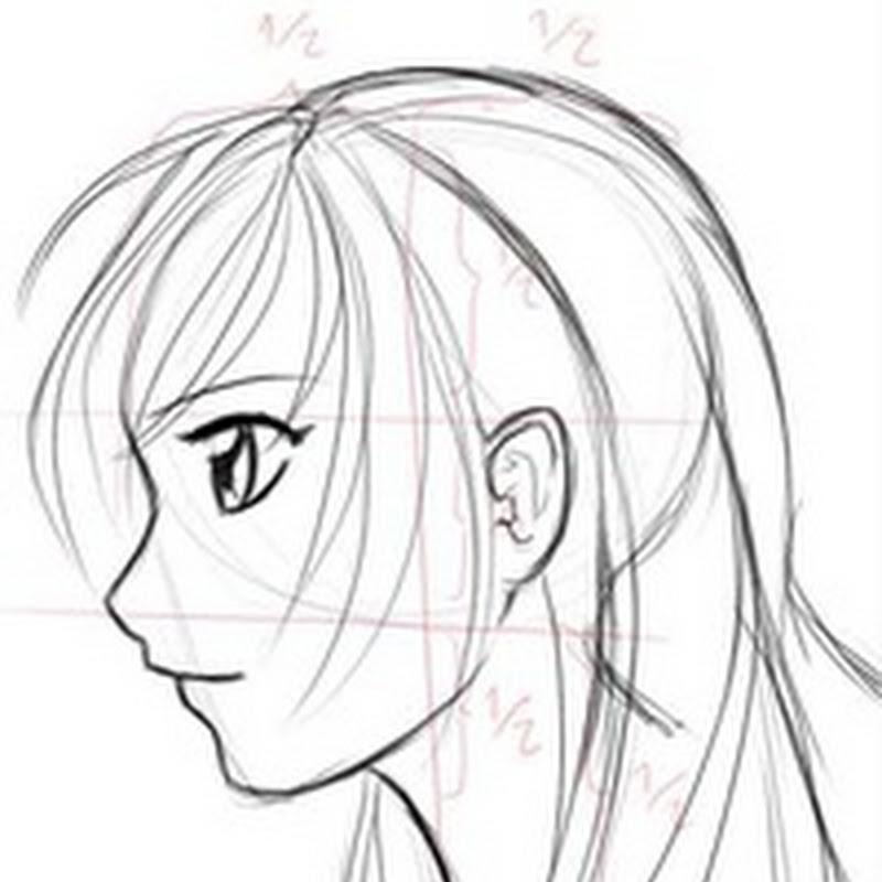 Tutorial para dibujar perfiles de manga