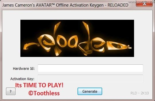 Avatar The Game Keygen (Activation Key Generator - UPDATED!