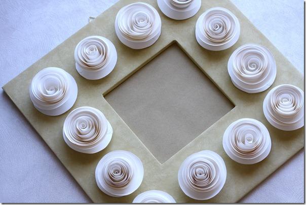 Розы рамка-9