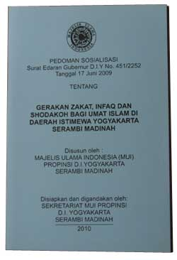 buku gerakan zakat