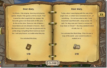 Gloria's diary