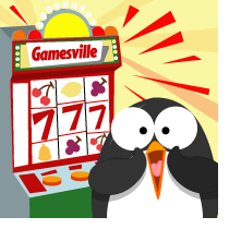 Poke the penguin playing slots