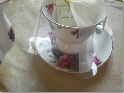 Matching teapot gift tea 003